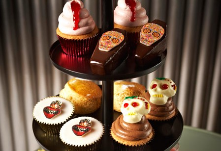 Gruesome cakes and gory gateaux