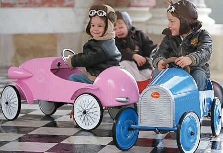 Classic Baghera pedal cars for kids