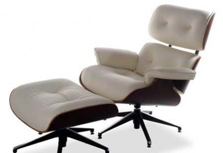 Eames Chair and Footstool – ice cool style…