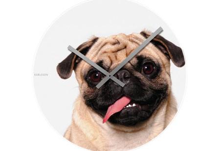 Puppy love – Karlsson clocks
