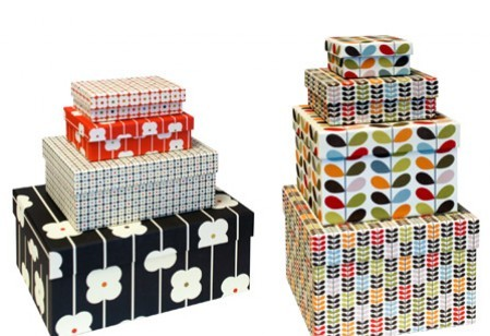 Stylish storage boxes from Orla Kiely and more