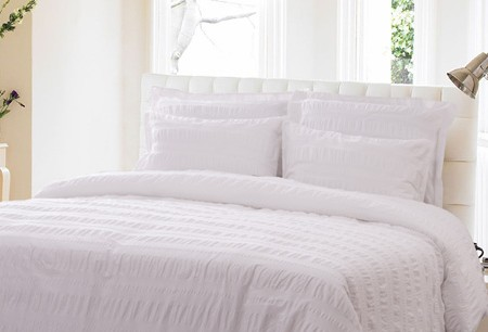 'Seersucker' bed linen for the perfect night's snooze