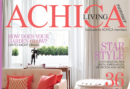 Step inside the ACHICA Living Magazine Summer issue