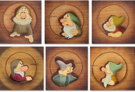 Own a piece of Walt Disney history: Artwork from Snow White and the Seven Dwarfs