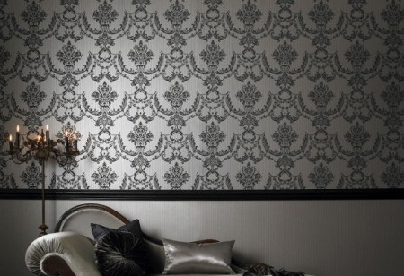 Embrace your inner drama queen with Graham & Brown's wallpaper collection