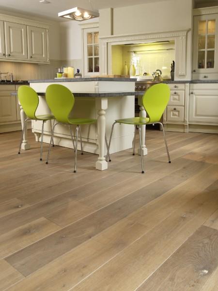 1_Paris Ceramics-Seasons-smoked European Oak flooring-Kitchen -high res