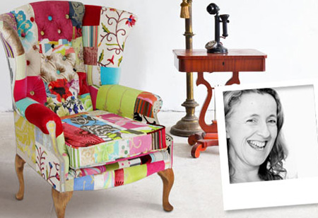 <b> Upcycled style: </b> Meet one-of-a-kind chair designer Kelly Swallow