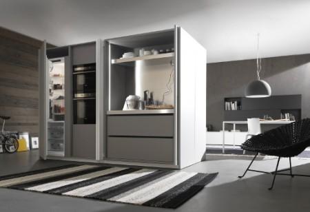 Storage Ideas: How to get a hideaway kitchen