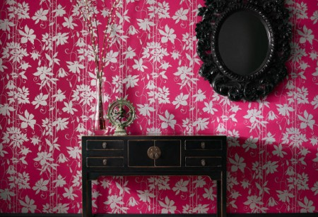 Add colour with bold wallpapers by Laurence Llewelyn Bowen for Graham & Brown