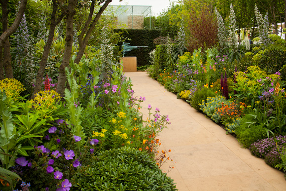 From flower to lifestyle show garden ideas specs price for Chelsea flower show garden designs