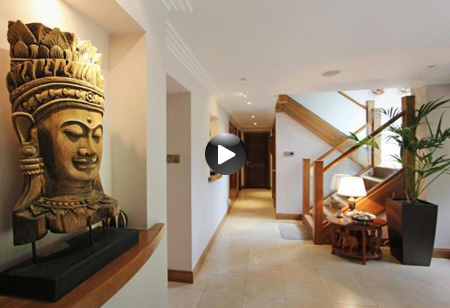 Latest video: Take a look inside this four-bedroom detached Scottish villa