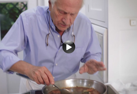 Latest video: How to make Red Mullet Escabeche by Michel Roux Snr