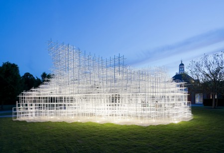 Head in The Clouds at the Serpentine Gallery Pavilion 2013