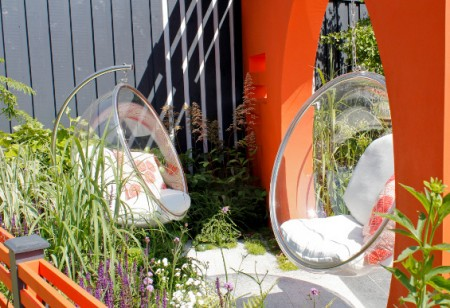 7 great ideas for small gardens from RHS Hampton Court Palace Flower Show 2013