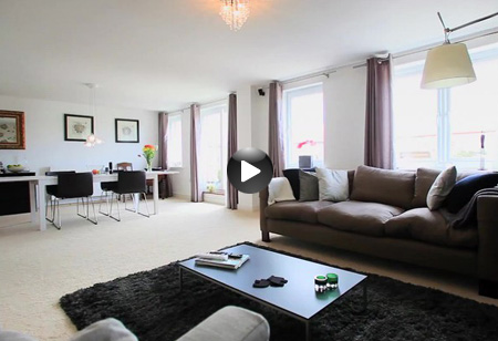 Latest video: Tour this contemporary apartment by the sea