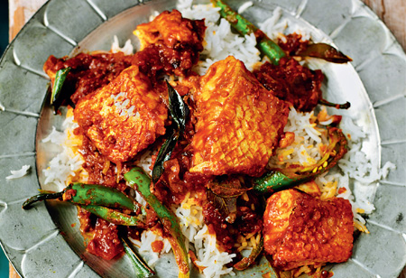 Rick Stein's Madras Fish Curry of Snapper, Tomato and Tamarind recipe