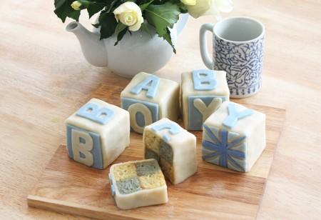 Royal Baby Battenberg cake recipe