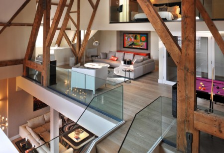 Scale the heights of this lofty penthouse apartment