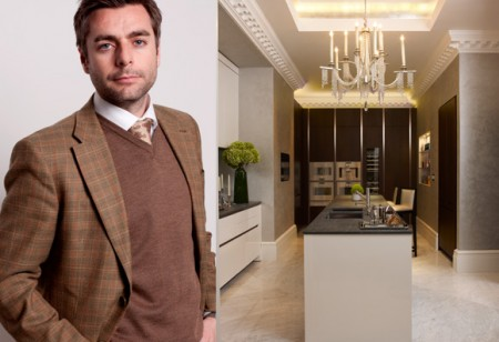 Interior designer Joe Burns gives us a tour around this luxurious apartment