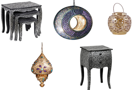 Chic Shopping: Add Moroccan style to your manor