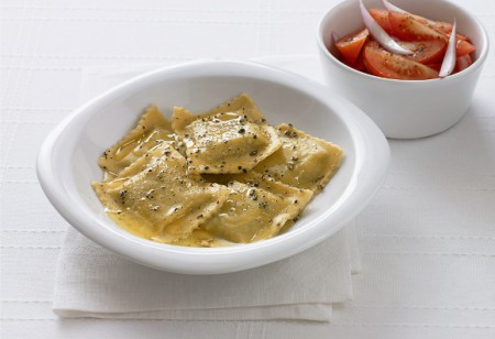 Impress your guests with this MasterChef Crab Ravioli recipe