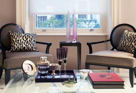 Interior designer Orla Collins reveals her glamorous apartment