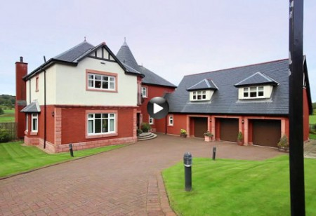 Latest video: Tour this detached villa in Scotland