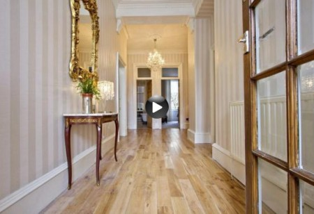 Latest video: Traditional meets contemporary in this city apartment