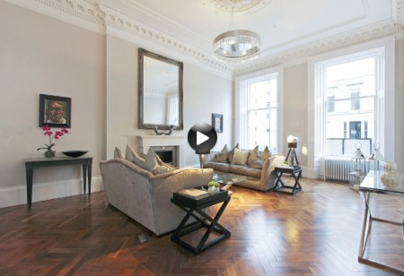 Latest video: Admire the interior in this elegant townhouse