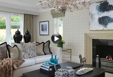 Latest video: Be inspired by the spring colours and modern decor inside this home