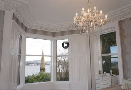 Latest video: Enjoy the impressive river views from this converted villa