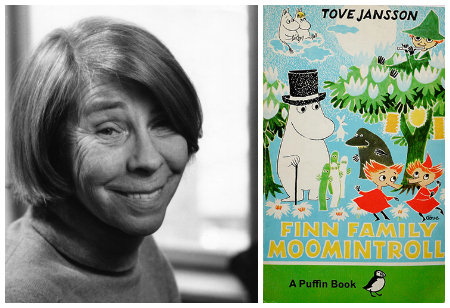 100th anniversary of Tove Jansson, creator of the Moomins
