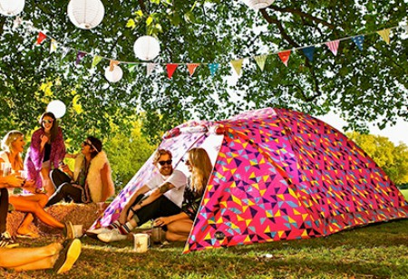 Tents, campfire cooking – and a new, family-friendly festival
