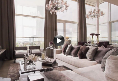 Latest video: This luxurious apartment oozes glamour from every corner