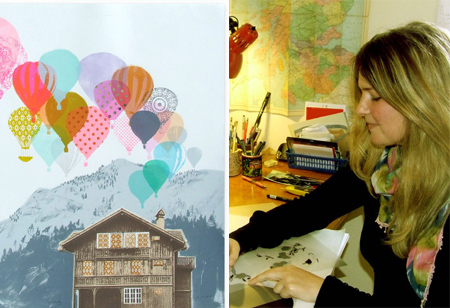 <b> Interview: </b> Scottish printmaker Freya Cumming on her 5 favourite buildings