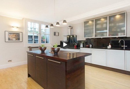 <b>Latest video: </b>Check out the stylish kitchen in this townhouse apartment