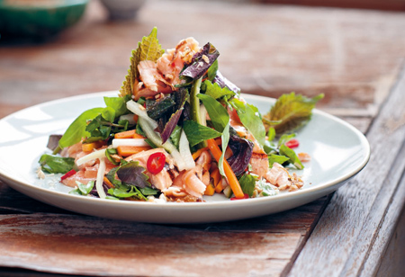 <b>Recipe: </b>Make this fresh and zingy Asian salmon salad this bank holiday weekend