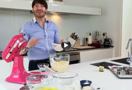 <b> Latest video: </b> Watch chef Eric Lanlard make a mango and vanilla chiboust tart
