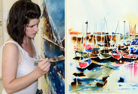 <b>Artist of the month: </b>We chat to landscape artist Rachael Dalzell
