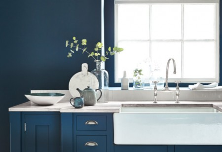<b> Trends &#038; Inspiration: </b> How to create impact in every room with beautiful blue