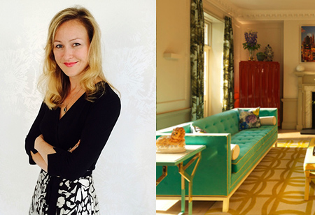 <b> House tours: </b> Learn how to bring colour into your home with tips from interior designer Rebekah Caudwell