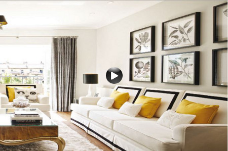 <b> House tours: </b> Monochrome doesn&#8217;t have to be boring. Get inspiration from this glamorous penthouse apartment