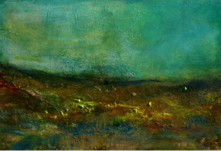 <b> Editor&#8217;s Pick: </b>Debra Royston&#8217;s atmospheric abstract landscape paintings