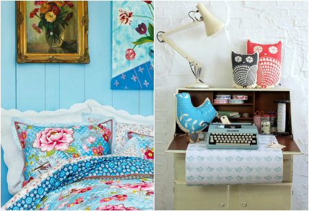 <b> Get the Look: </b> A drop of nostalgia, a world of prettiness and a colourful palette will give your rooms some homespun charm