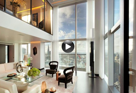 <b> Latest video: </b> Admire the views and decor in this stunning city penthouse