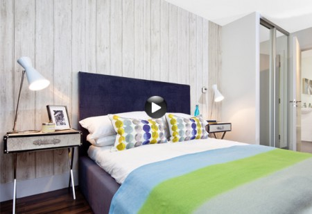 <b> Latest video: </b> This modern flat is inspired by mid-century style
