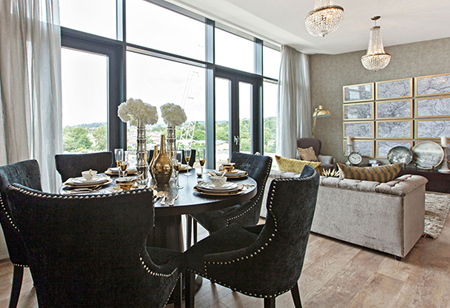 <b> House tours: </b> Dining rooms with a difference