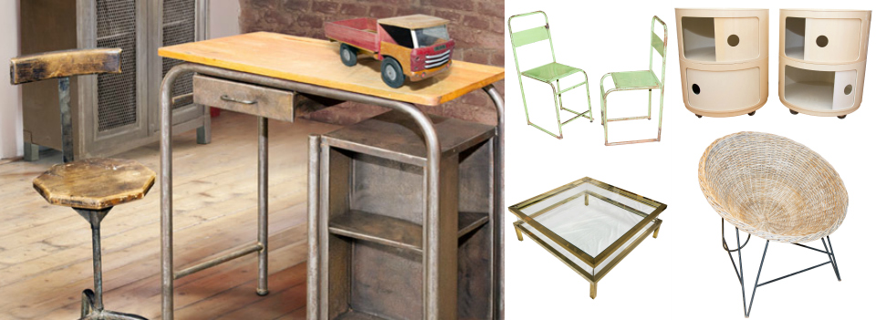 <b> Editor&#8217;s Pick: </b> One-off industrial vintage pieces, perfect for the loft-living look