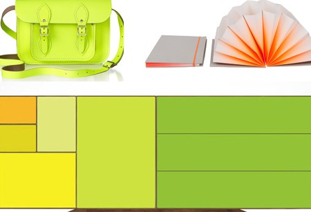Get your sunglasses out – it's all about the neon brights