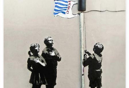 10 reasons why Banksy rocks…